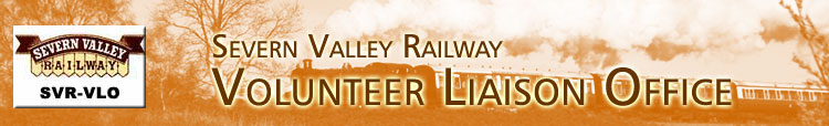 Welcome to the Severn Valley Railway Volunteer Liaison Office